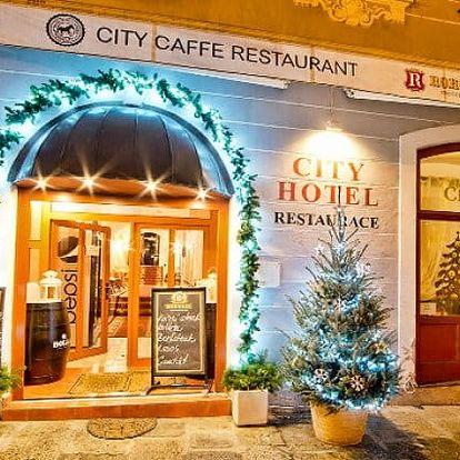 2 nebo 3denní pobyt v Hotelu City Písek*** pro 2 osoby se snídaněmi