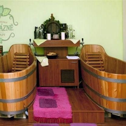 Pivní lázně Poděbrady: 3-4 dny pro 2 osoby: snídaně, gurmánská večeře a pivní procedury