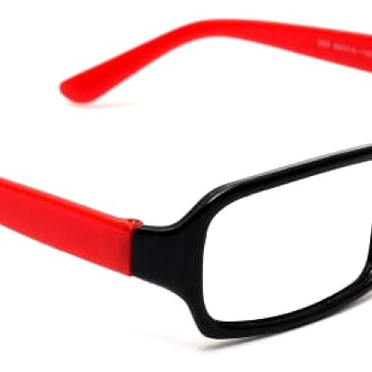 Nedioptrické brýle s různými barvami paciček - bez skel