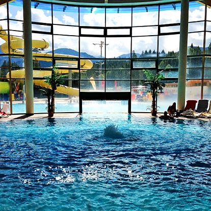 Liptov v Tatrách pro DVA s wellness a polopenzí + sleva 50 % do Aquaparku Oravice