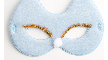 Karnevalová maska kočka