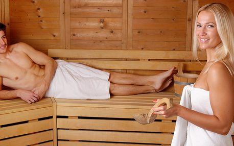 90 minut pro lásku: privátní vířivka a sauna