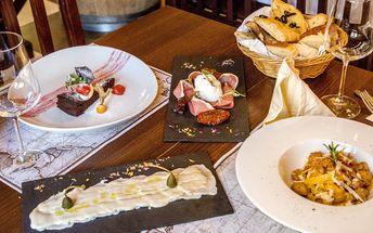 Středomořské degustační menu o 4 chodech