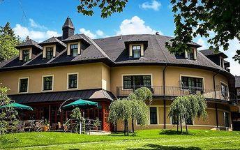 3denní pobyt pro 2 v Golf hotelu Morris v Mariánkách s wellness a polopenzí