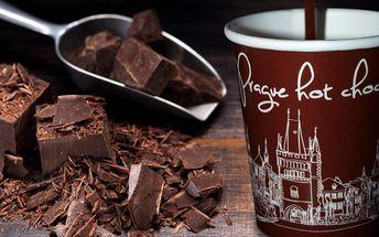 Sladká procházka: horká čokoláda u Staromáku