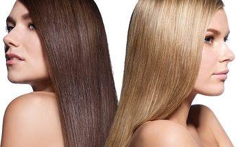 Hloubková regenerace vlasů botoxem v kadeřnictví Adana v Brně