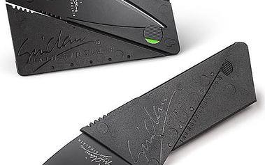 Skládací nůž v kreditní kartě - Vhodný pro každou peněženku.