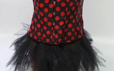 Erotické prádlo Intimax, červeno-černé