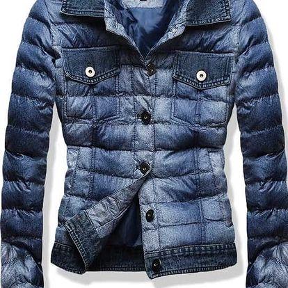 Dámská jarní/podzimní bunda Kurt modrá AKCE