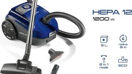 Vysavač podlahový Concept VP8070 modrý
