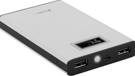GoGEN 8000 mAh, display, bílá/černá - GOGPBD80005WB