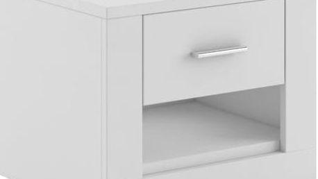 Noční stolek IDEA WHITE 07