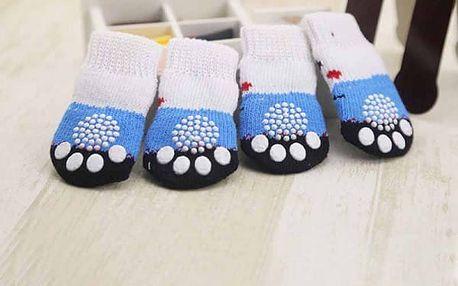 Protiskluzové ponožky pro psy