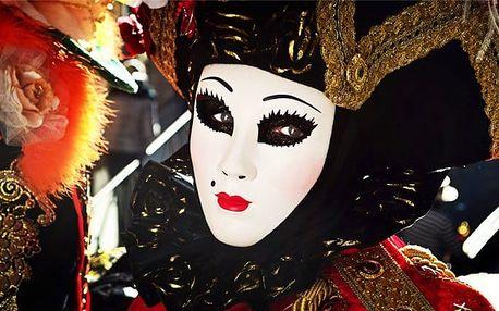 3denní zájezd na karneval v italských Benátkách pro 1 osobu