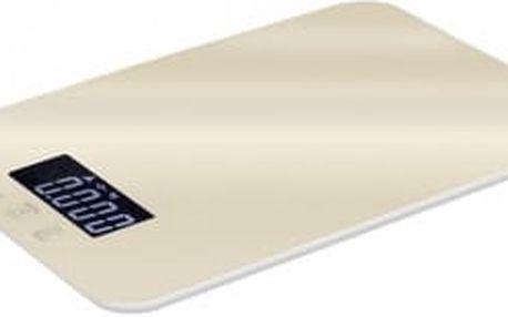 Váha kuchyňská digitální 5 kg Cream Metallic Line KELA BH-9004