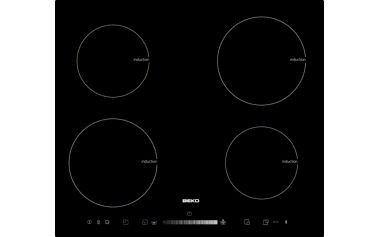 Indukční varná deska Beko HII 64501 T černá