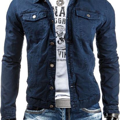 Pánská bunda Corry modrá AKCE