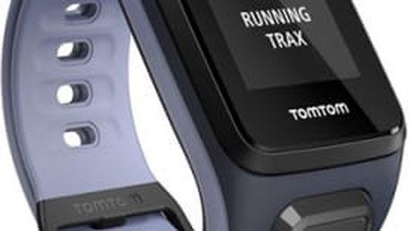 GPS hodinky Tomtom 2 Cardio + Music (S) (1RFM.001.02) modré/fialové