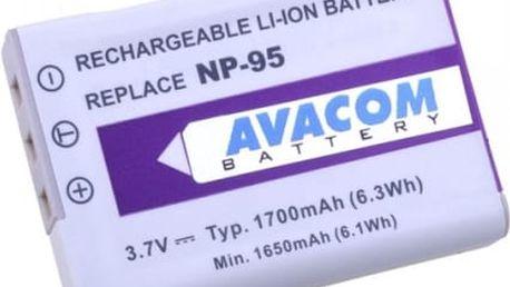 Baterie Avacom pro Fujifilm NP-95, Ricoh DB-90 Li-Ion 3.7V 1700mAh (DIFU-NP95-351)