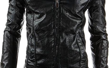 Pánská kožená bunda Lugra AKCE M
