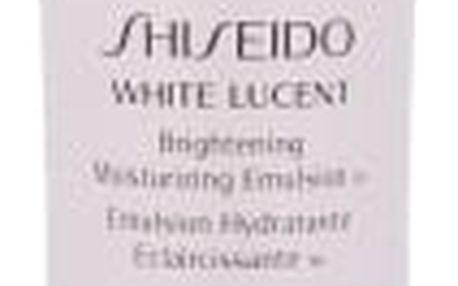 Shiseido White Lucent Brightening Emulsion 75 ml denní pleťový krém tester pro ženy