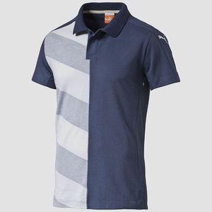 Tričko Puma Mestre Casual Polo L Modrá