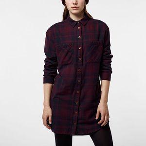 Košile O´Neill LW TRAVELLER SHIRT LONG L Červená