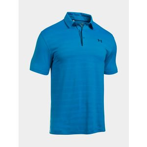 Tričko Under Armour Heatgear CoolSwitch Jacguard Polo M Modrá