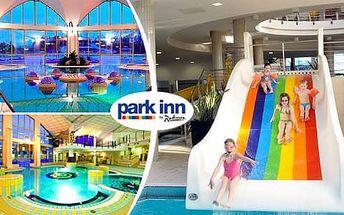 Hotel Park Inn **** v termálních lázních Sárvár s polopenzí a neomezeným wellness