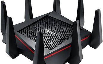 Router Asus RT-AC5300 (90IG0201-BN2G00) černý + Doprava zdarma