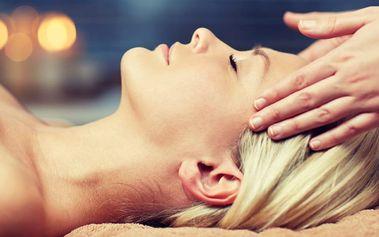 Lymfatická masáž obličeje a alginátová maska