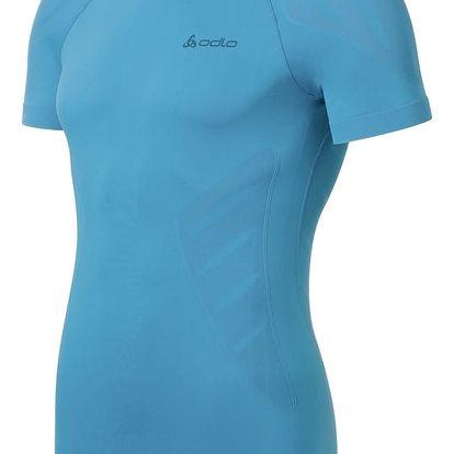 Pánské triko Odlo Evolution Light, modré