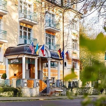 3–8denní luxusní wellness pobyt ve Villa Savoy Spa Park Hotelu**** v Mariánkách