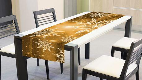 Textilní ubrusy se zimním motivem pro váš stůl