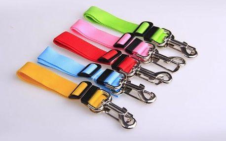 Bezpečnostní pás do auta pro psy - různé barvy