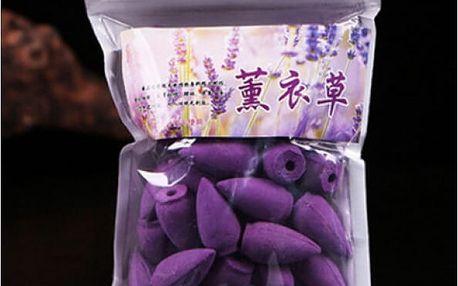 Relaxační vonné kužely Aromaterapie 45 ks