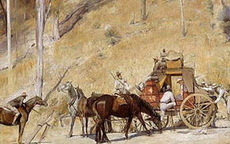 Australští Impresionisté, vstupenka na promítání výstavy, která se koná v Národní galerii v Londýně