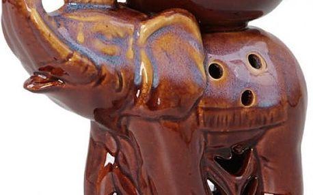 Aroma lampa na čajovou svíčku Slon