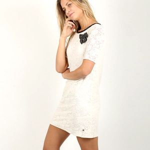 Šaty Replay W9684 Dresses M Bílá