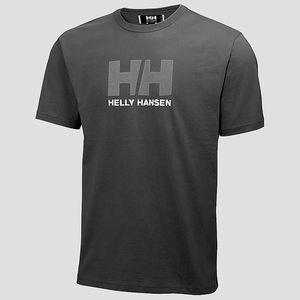 Tričko Helly Hansen LOGO T-SHIRT XL Šedá + DOPRAVA ZDARMA