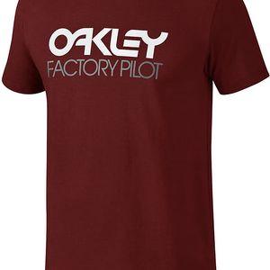 Tričko Oakley FP LOGO S/S TEE S Barevná