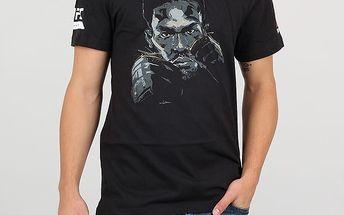 Tričko Reebok JONES FIGHTER TEE XL Černá