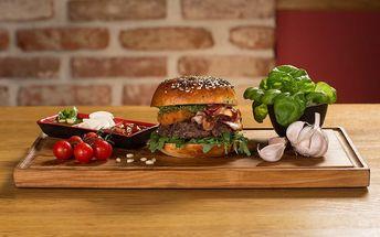 Degustační pobyt v Dolce Villa**** & Burger Bar Praha: 3 dny pro dva se snídaněmi a burgery