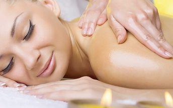 Relaxační balíček s masážemi a čoko zábalem