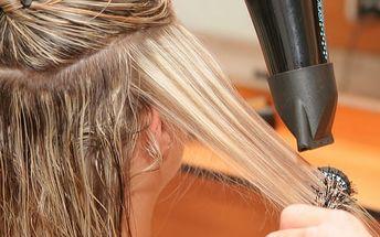 Kadeřnický balíček pro všechny délky vlasů: střih, mytí, regenerace, styling + možný melír