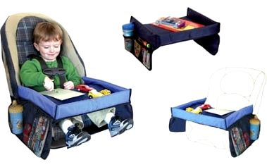 Dětský stoleček do auta pro vaše ratolesti. Praktická věcička, která vám ulehčí cestování.