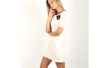 Šaty Replay W9684 Dresses S Bílá