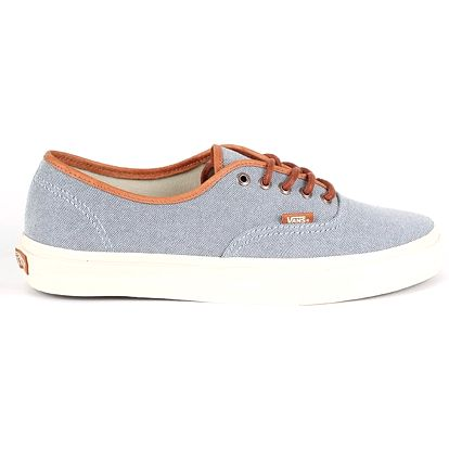 Boty Vans U AUTHENTIC DX (BRUSHED) BLUE 43 Modrá