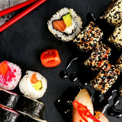 39% sleva na running sushi All You Can Eat v OC Forum Liberec