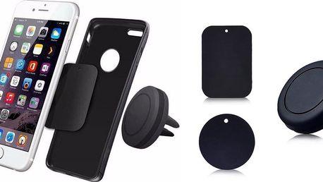 Magnetický držák na telefon do mřížky auta